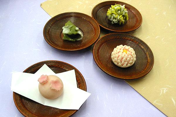 京菓子 ねりきり細工体験(3ヶづくり)
