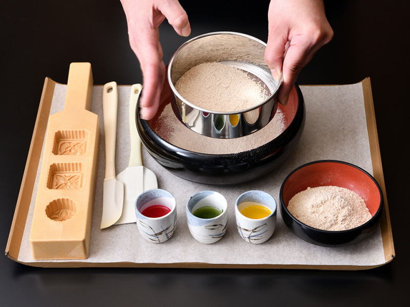 お干菓子「和三盆」づくり